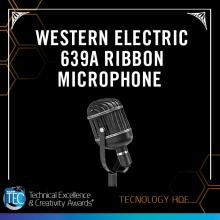 Western Electric 639A Ribbon Microphone