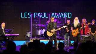 Jackson Browne performs with The Section at the 33rd Annual NAMM TEC Awards